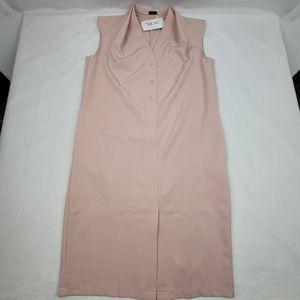 Stylove European sleeveless sheath with pockets